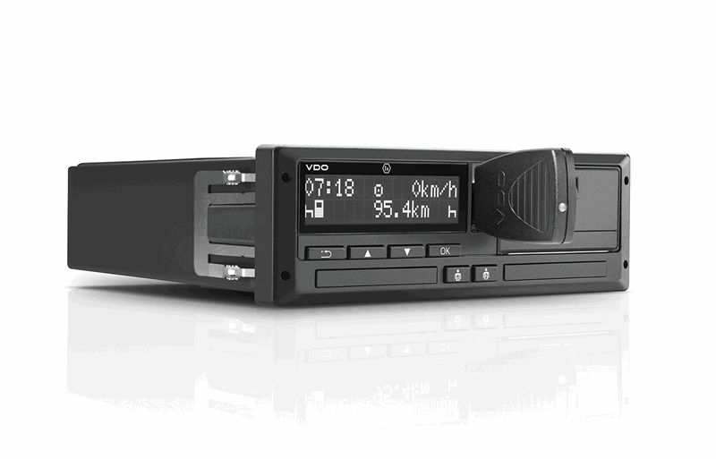 THE INTELLIGENT CONNECTION BETWEEN TACHOGRAPH AND SMARTPHONE